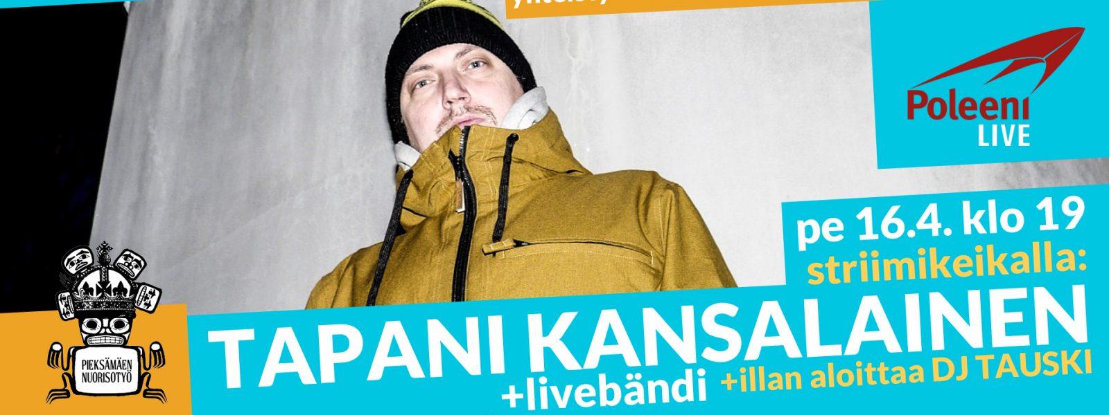 Poleeni LIVE: Tapani Kansalainen -livebändi