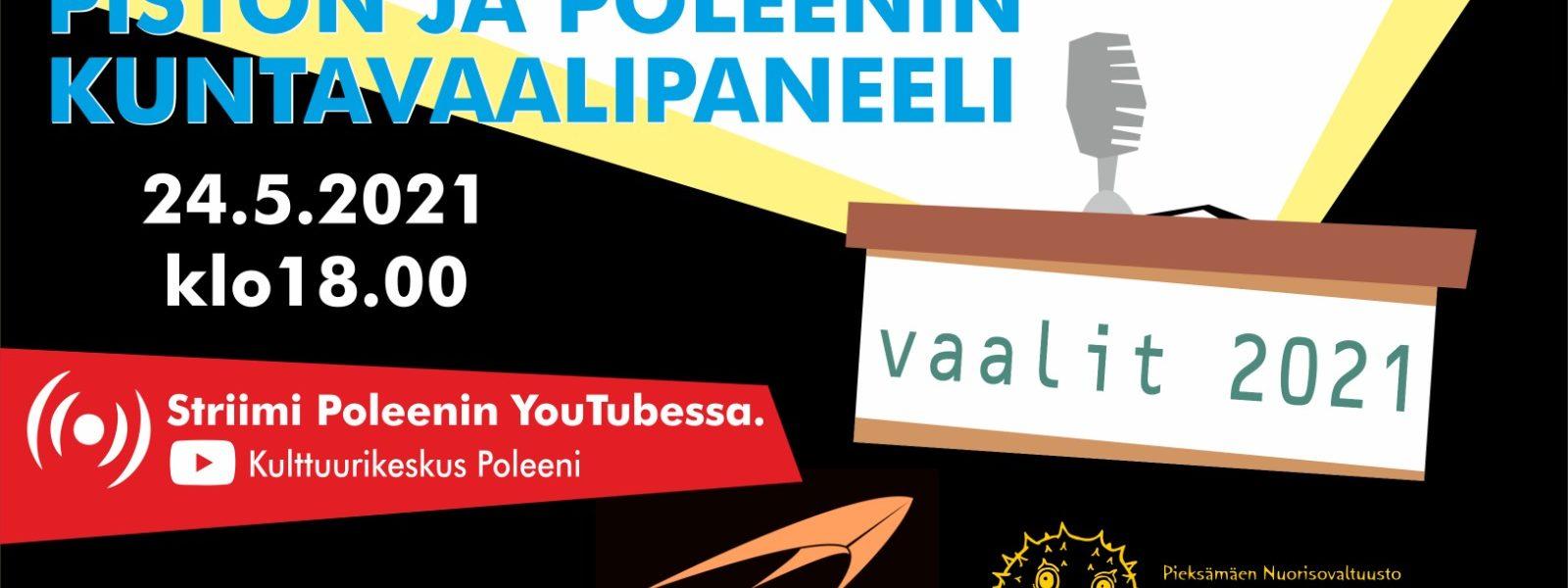 Poleeni LIVE: Vaalipaneeli
